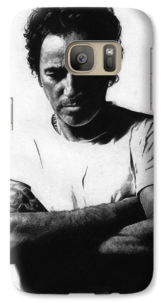 Bruce Springsteen  Galaxy S7 Case by Justin Clark
