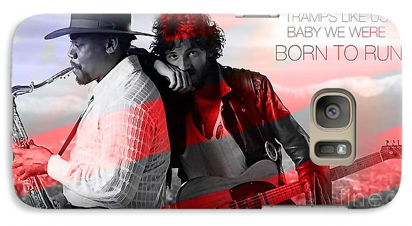 Bruce Springsteen Galaxy S7 Case by Marvin Blaine