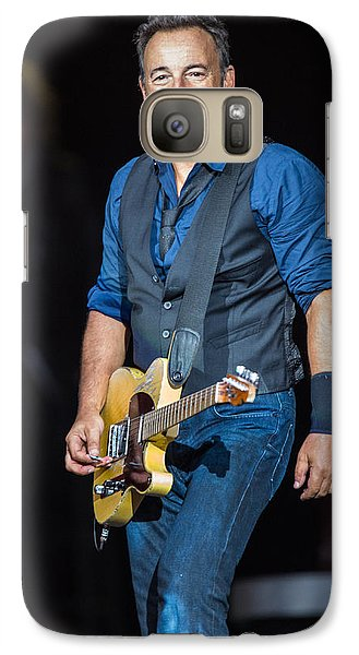 Bruce Springsteen Galaxy S7 Case by Georgia Fowler