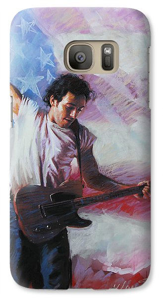 Bruce Springsteen The Boss Galaxy S7 Case by Viola El