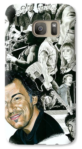 Bruce Springsteen Through The Years Galaxy S7 Case by Ken Branch