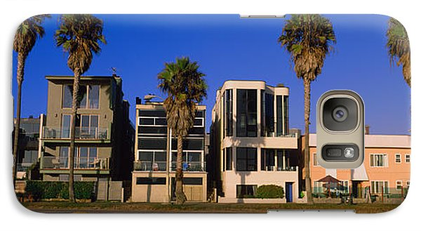 Buildings In A City, Venice Beach, City Galaxy Case by Panoramic Images