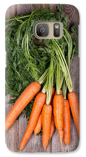 Bunched Carrots Galaxy S7 Case by Jane Rix
