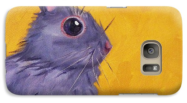 Bunny Galaxy S7 Case by Nancy Merkle