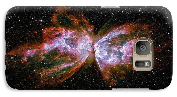 Butterfly Nebula Ngc6302 Galaxy S7 Case by Adam Romanowicz