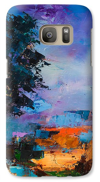 By The Canyon Galaxy Case by Elise Palmigiani