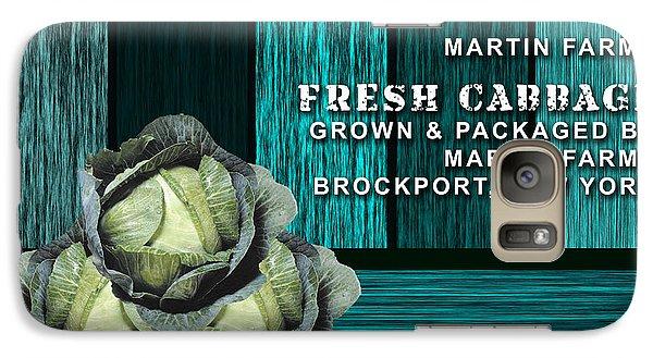 Cabbage Farm Galaxy Case by Marvin Blaine