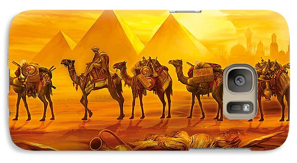 Caravan Galaxy S7 Case by Jan Patrik Krasny