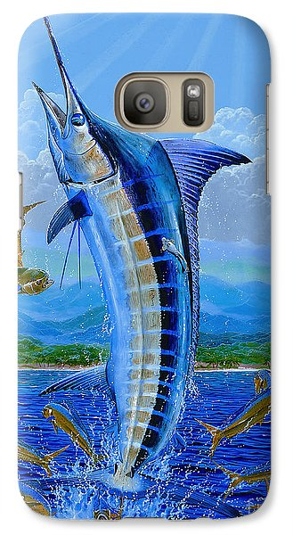 Caribbean Blue Off0041 Galaxy S7 Case by Carey Chen