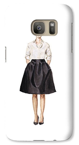 Carolina Herrera Classic Look Galaxy S7 Case by Jazmin Angeles