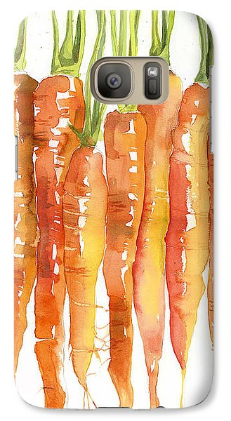 Carrot Bunch Art Blenda Studio Galaxy S7 Case by Blenda Studio