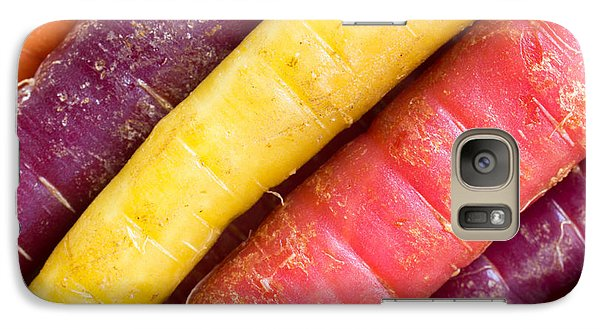 Carrot Rainbow Galaxy S7 Case by Heidi Smith