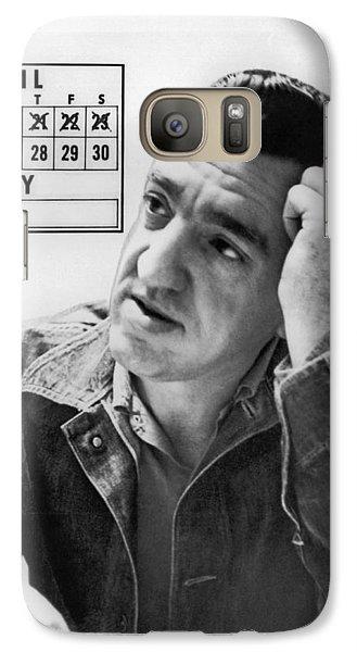 Caryl Chessman Galaxy S7 Case by Underwood Archives