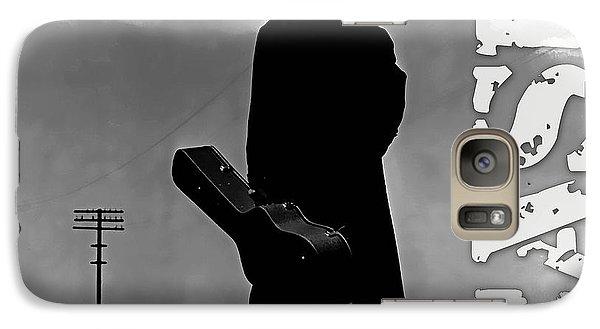 Johnny Cash Galaxy Case by Marvin Blaine