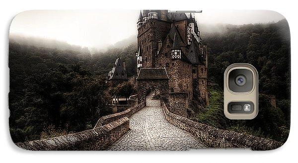 Castle In The Mist Galaxy Case by Ryan Wyckoff