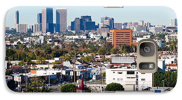 Century City, Beverly Hills, Wilshire Galaxy S7 Case by Panoramic Images