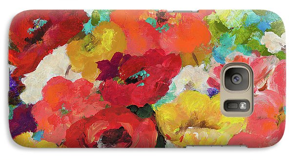 Cheerful Flowers II Galaxy S7 Case by Patricia Pinto
