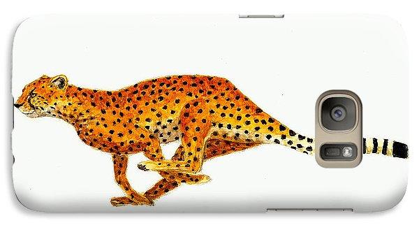 Cheetah Galaxy Case by Michael Vigliotti