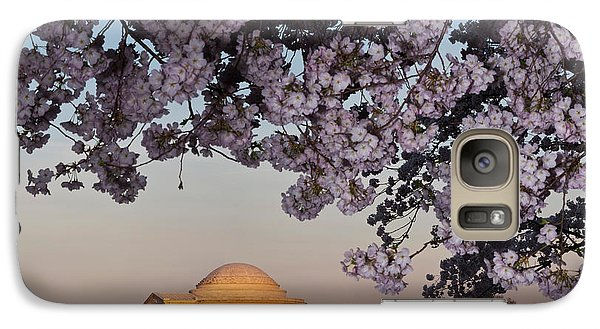 Cherry Blossom Tree With A Memorial Galaxy Case by Panoramic Images