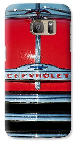 Chevrolet 3100 1953 Pickup Galaxy S7 Case by Tim Gainey