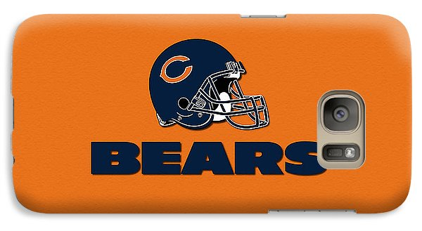 Chicago Bears Galaxy Case by Marvin Blaine