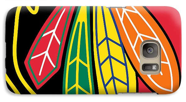 Chicago Blackhawks Galaxy Case by Tony Rubino