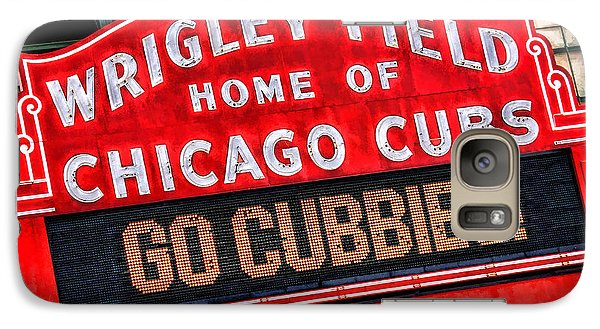 Chicago Cubs Wrigley Field Galaxy S7 Case by Christopher Arndt