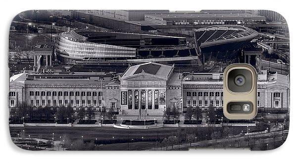 Chicago Icons Bw Galaxy Case by Steve Gadomski