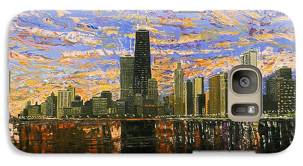 Chicago Galaxy S7 Case by Mike Rabe