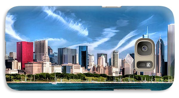 Chicago Skyline Panorama Galaxy S7 Case by Christopher Arndt