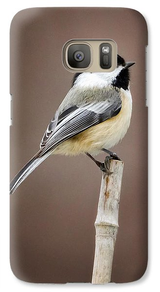 Chickadee Galaxy S7 Case by Bill Wakeley