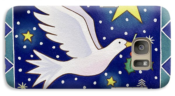Christmas Dove  Galaxy S7 Case by Cathy Baxter