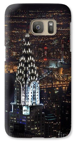 Chrysler Buiilding Galaxy S7 Case by John Farnan