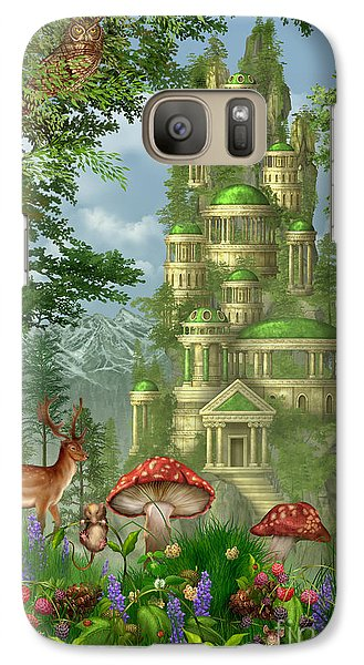 City Of Coins Galaxy Case by Ciro Marchetti