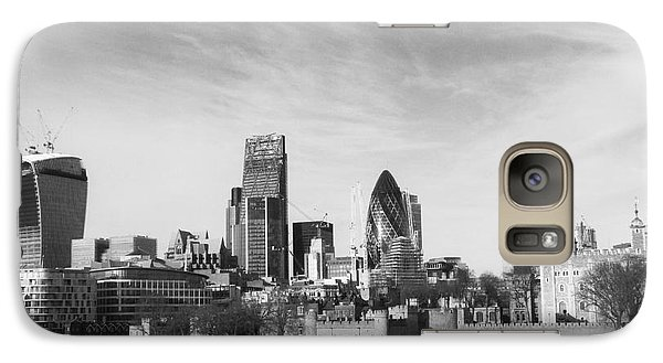 City Of London  Galaxy Case by Pixel Chimp