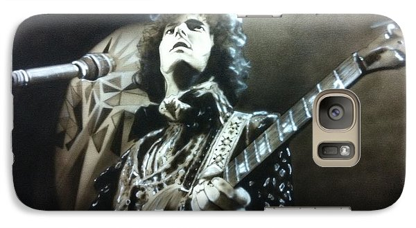 Eric Clapton - ' Clapton ' Galaxy S7 Case by Christian Chapman Art