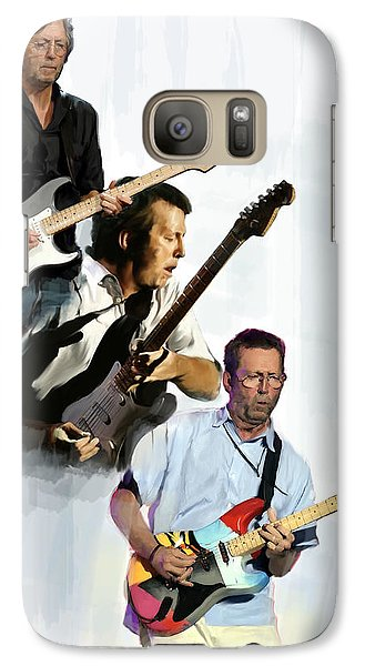 Clapton Eric Clapton Galaxy S7 Case by Iconic Images Art Gallery David Pucciarelli