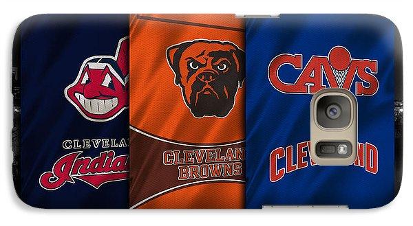 Cleveland Sports Teams Galaxy Case by Joe Hamilton
