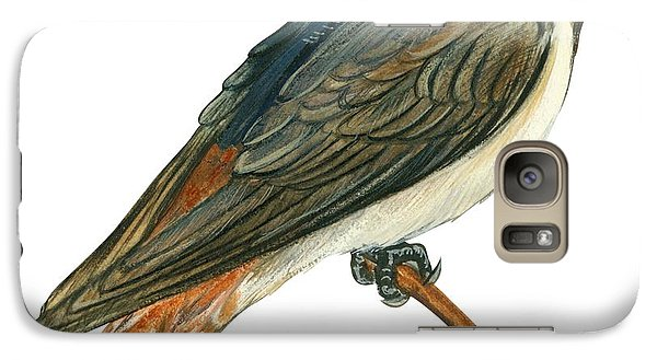 Cliff Swallow  Galaxy Case by Anonymous