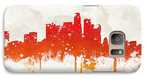 Clouds Over Los Angeles California Galaxy Case by Aged Pixel