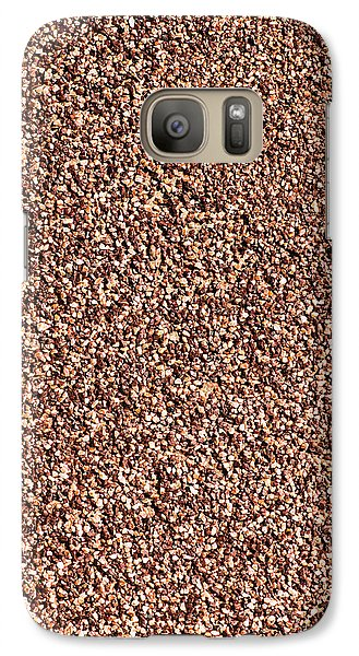 Coarse Grained Texture Galaxy S7 Case by Alexander Senin