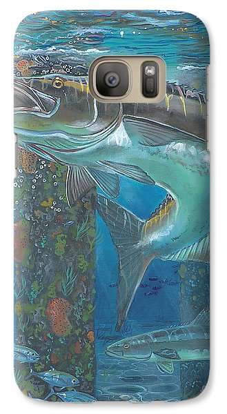 Cobia Strike In0024 Galaxy S7 Case by Carey Chen