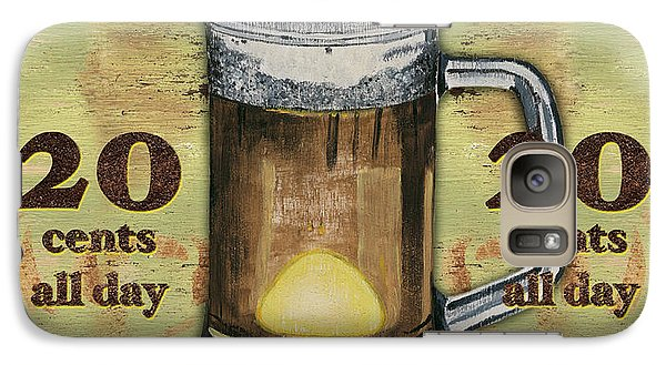 Cold Beer Galaxy Case by Debbie DeWitt
