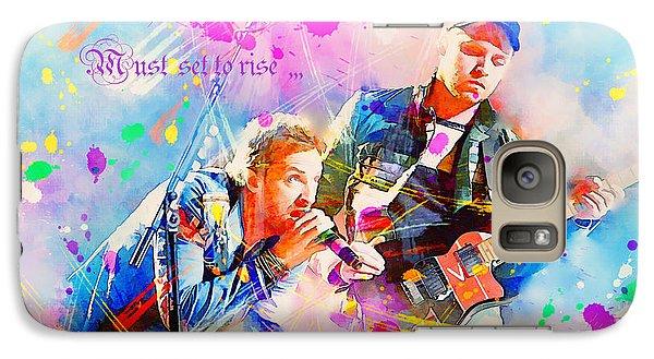 Coldplay Lyrics Galaxy S7 Case by Rosalina Atanasova