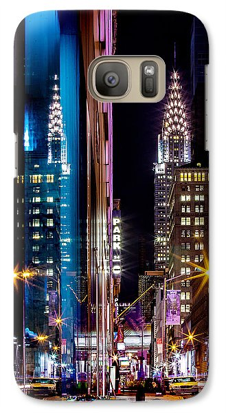 Color Of Manhattan Galaxy S7 Case by Az Jackson