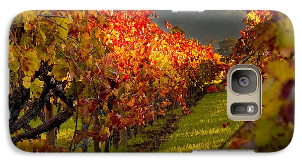 Color On The Vine Galaxy Case by Bill Gallagher