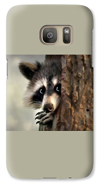 Conspicuous Bandit Galaxy S7 Case by Christina Rollo