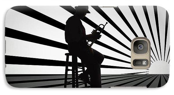 Cool Jazz 2 Galaxy Case by Bedros Awak
