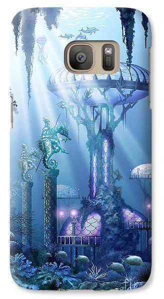 Coral City   Galaxy Case by Ciro Marchetti