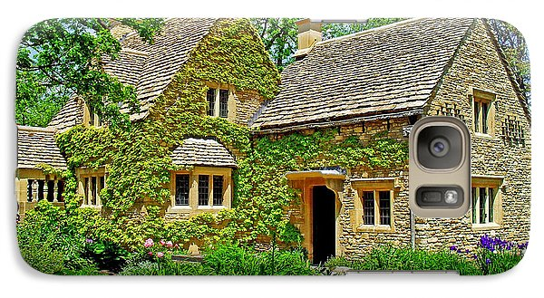 Galaxy Case featuring the photograph Cotswold Cottage by Rodney Campbell